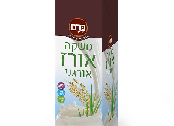 משקה אורז אורגני 1 ליטר