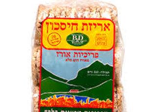 פריכיות אורז אריזת חיסכון