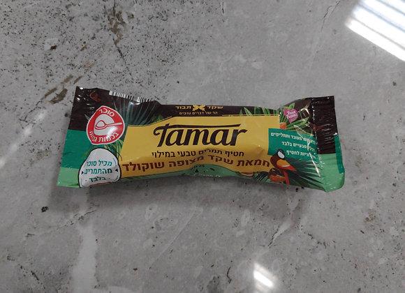חטיף תמרים מצופה שוקולד 1 יחידה