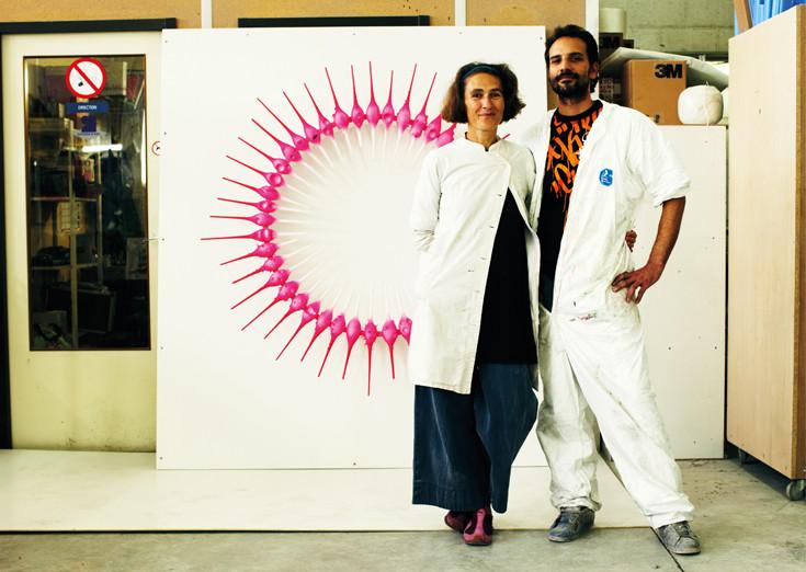 """Sculpture Murale / NON SENS / collection """" 20 ans de Trans-"""""""