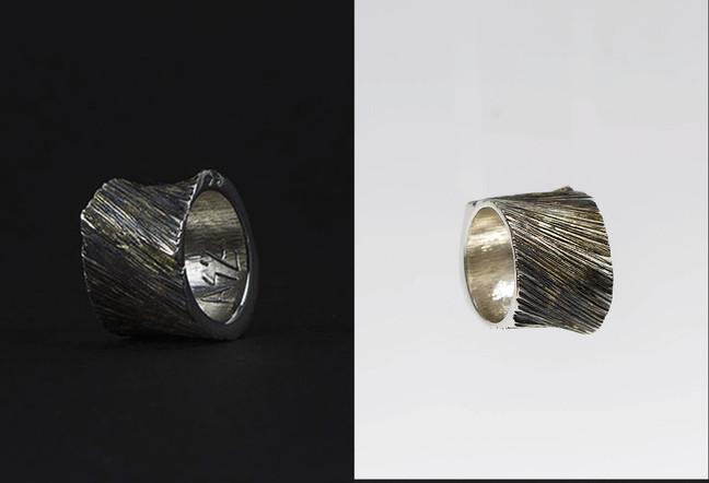 """Bague / PLASMA /  Exposition """"Enchainée Déchainée"""""""
