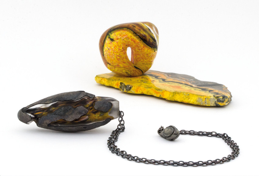 """Collier / MES MERVEILLES / Exposition """"A taaable !!!"""""""