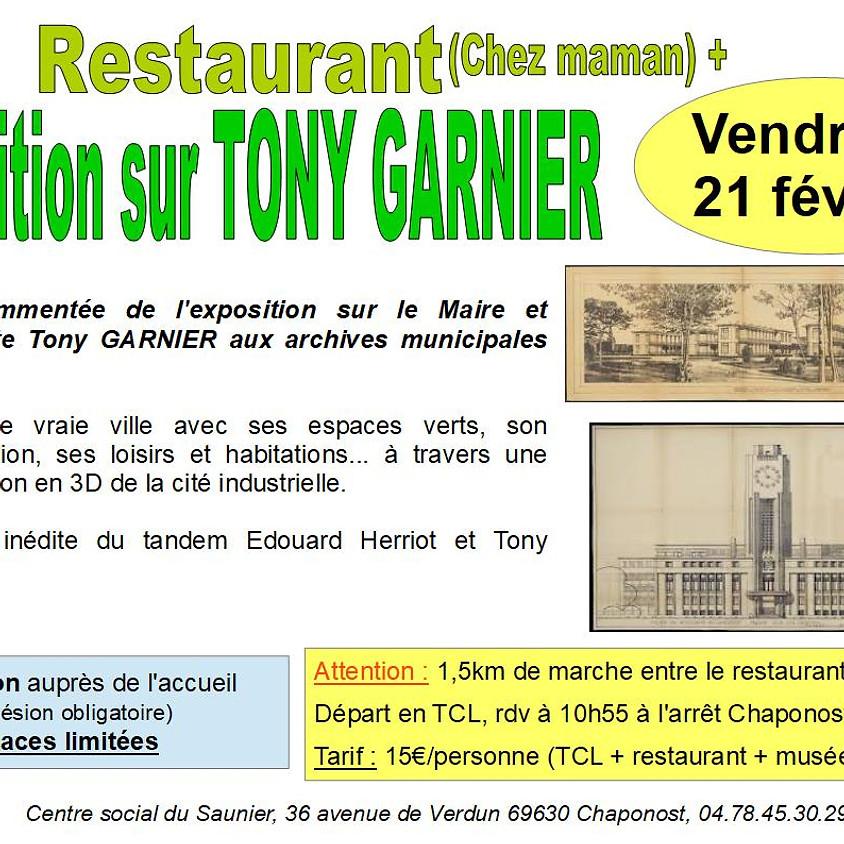 Exposition sur Tony Garnier