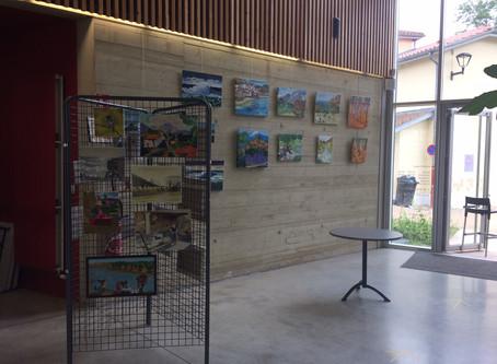 Photos EXPO peinture du 5 juin 2020