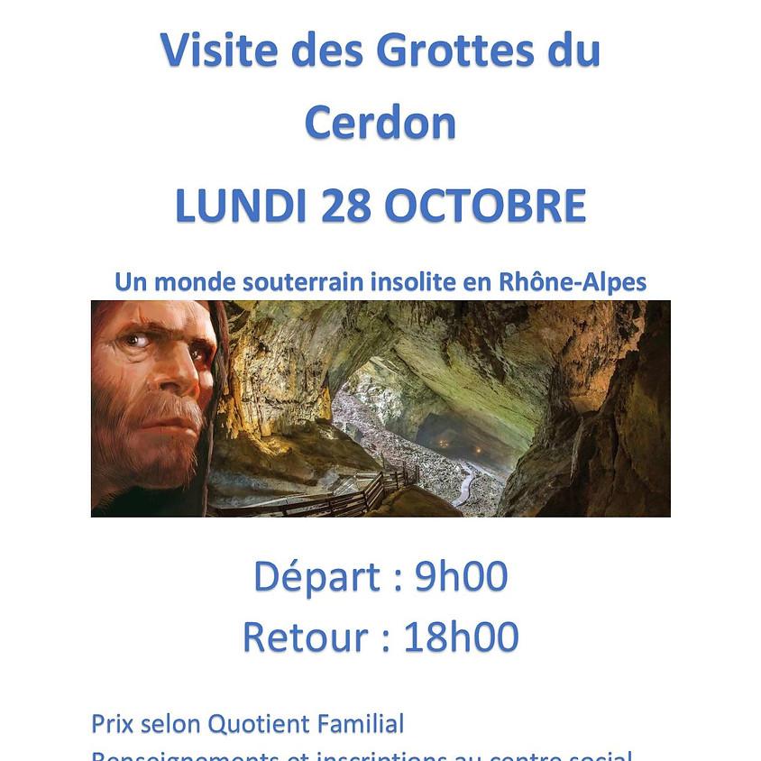 Sortie en famille : Visite des grottes du Cerdon