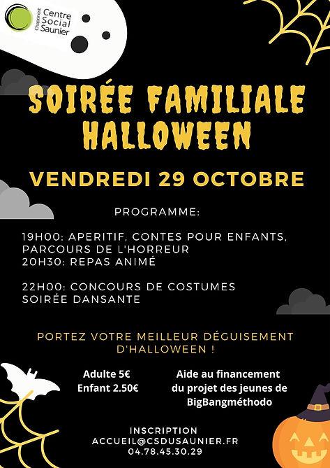 Violet Citrouilles Halloween Soirée Affiche.jpg
