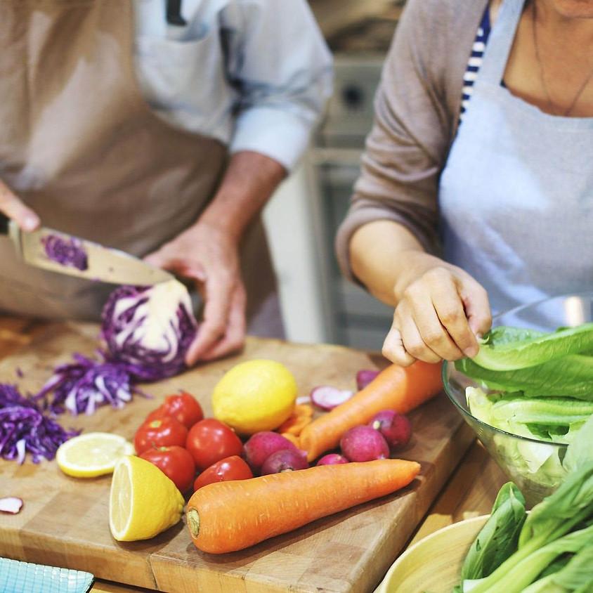 Atelier cuisine en français