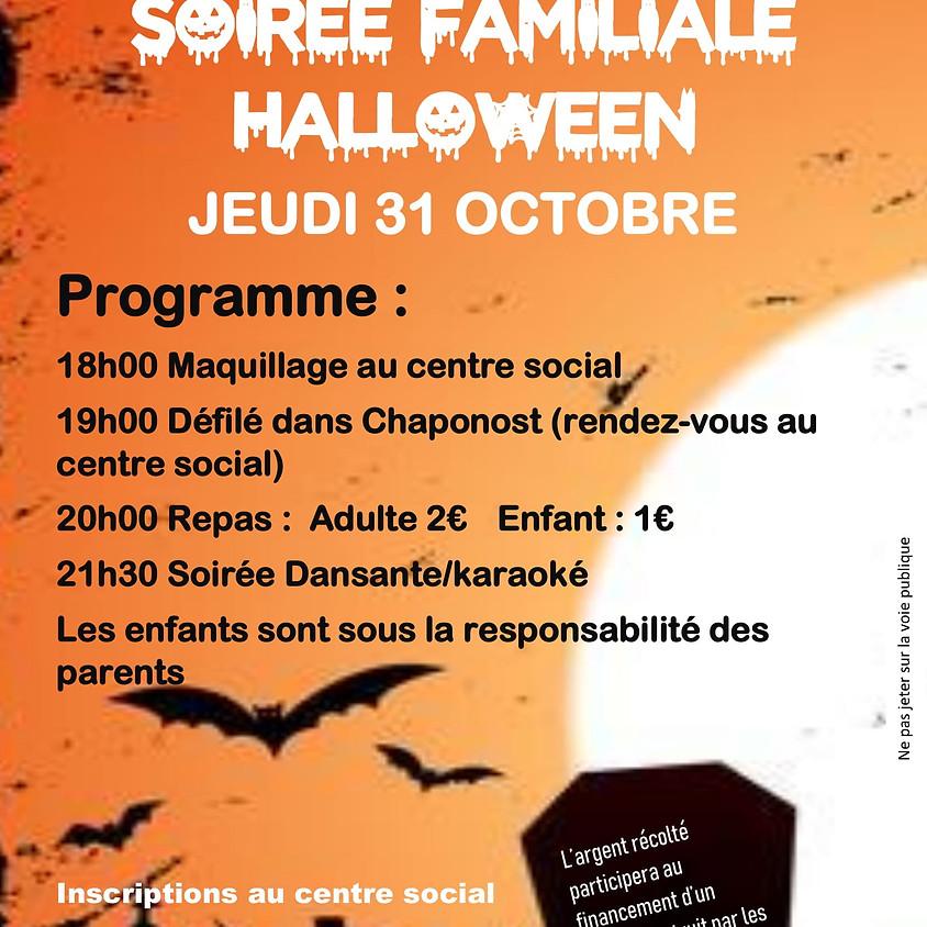 Soirée Familiale Halloween