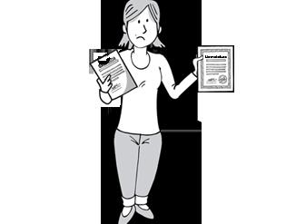 Traducción jurada al alemán de un Certificado de Nacimiento