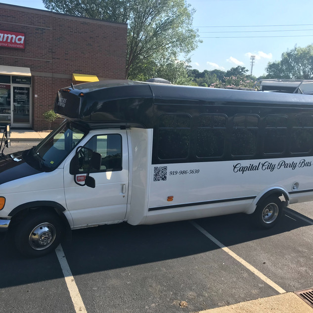 16 Passenger Party Bus