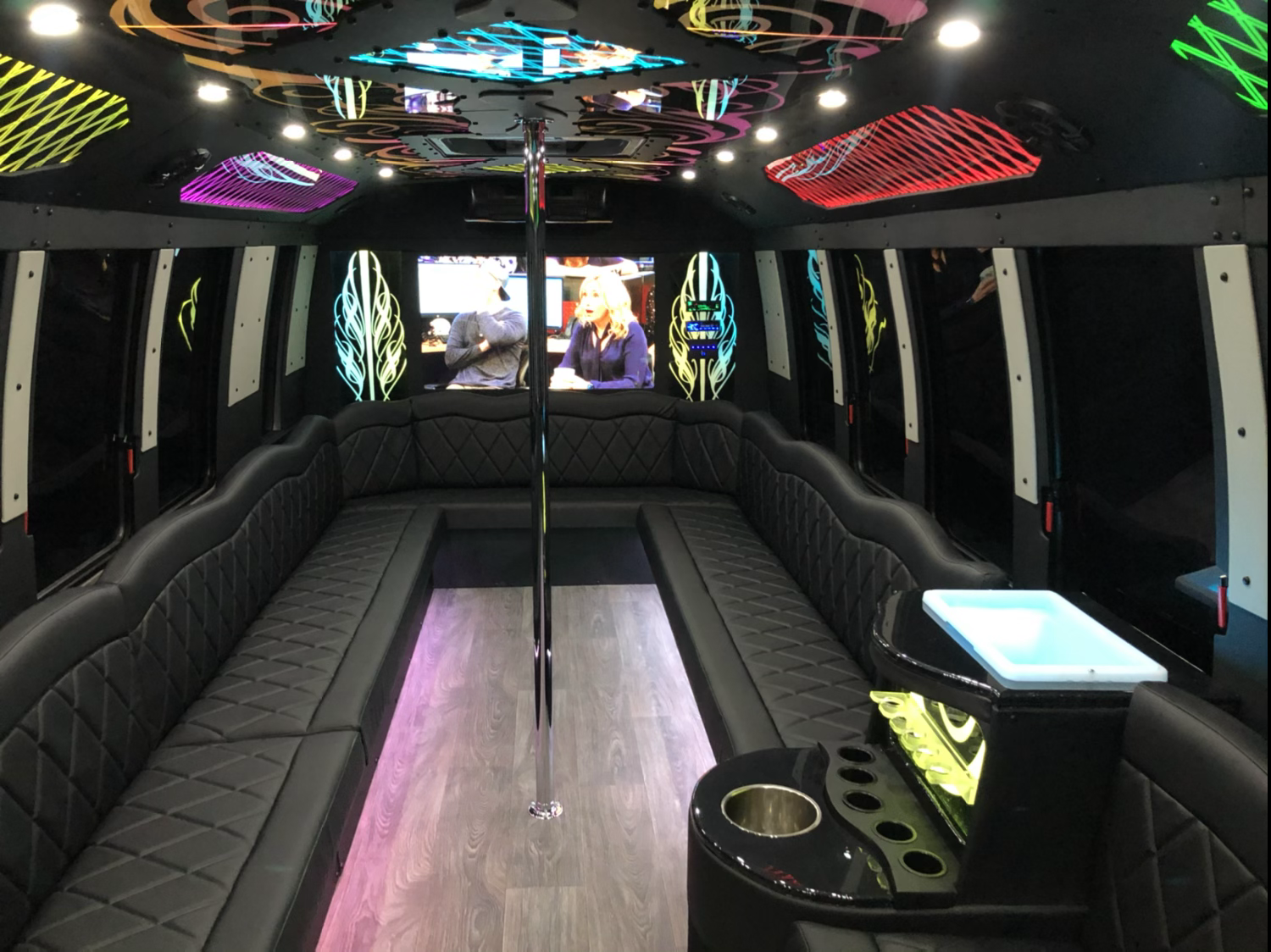 11 hour rental Party Bus(22)