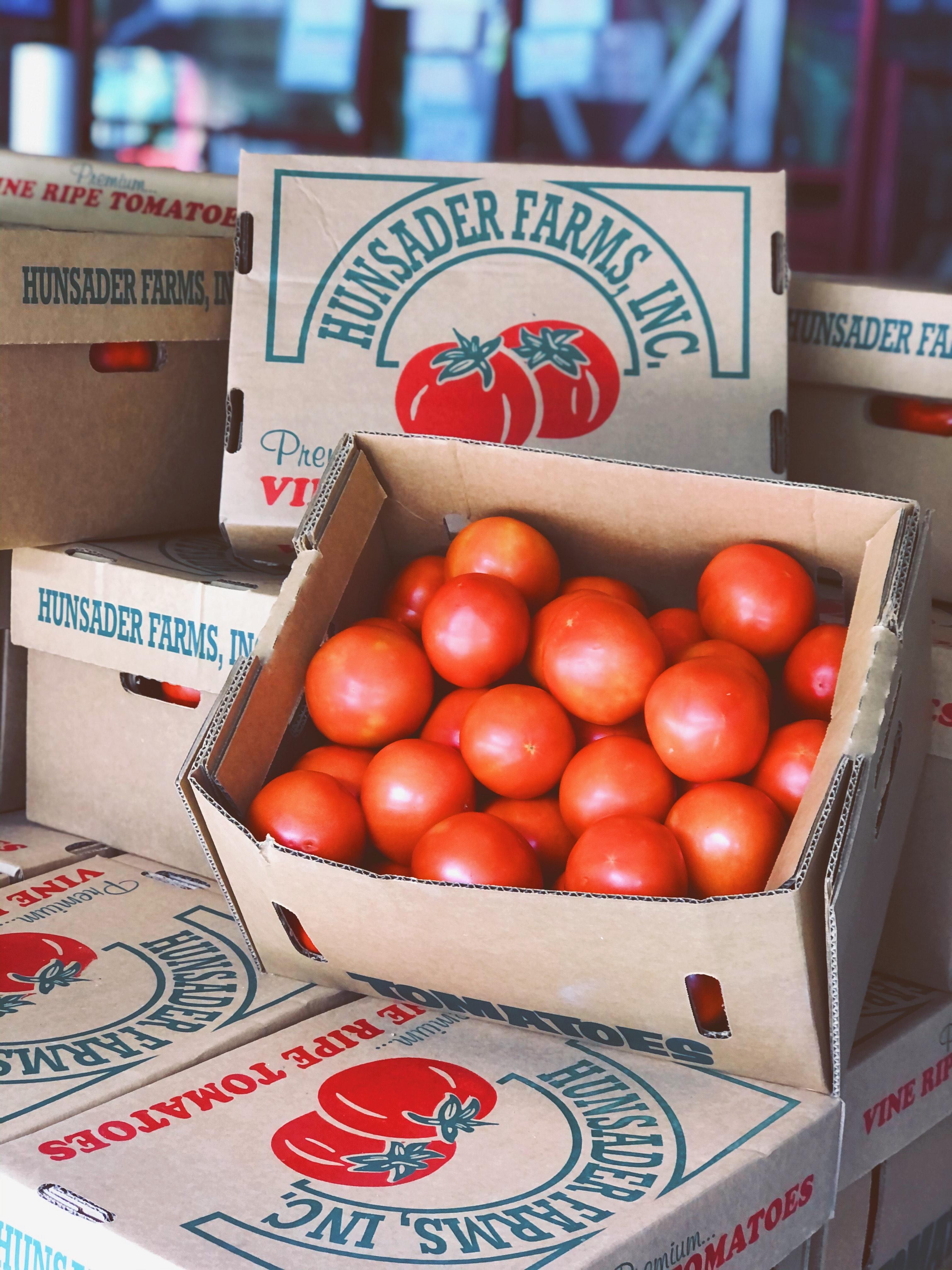 tomatoes box