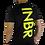 Thumbnail: Polera Dryfit Negra Amarillo Fluor