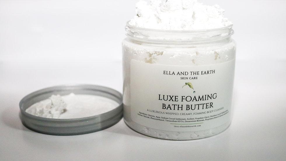 Luxe Foaming Bath Butter