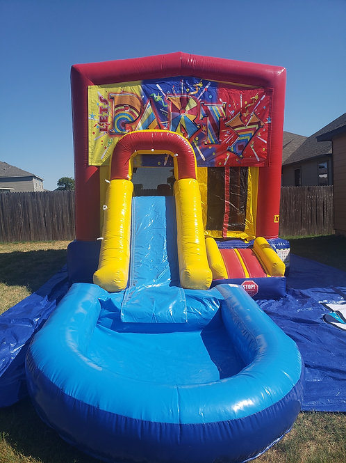 Party Bounce / Water Slide Combo