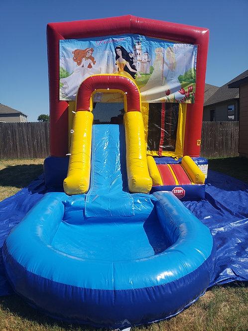 Princess Bounce / Water Slide Combo
