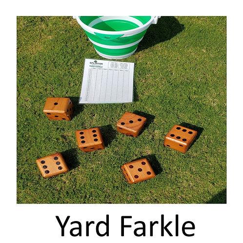 Giant Yard Farkle