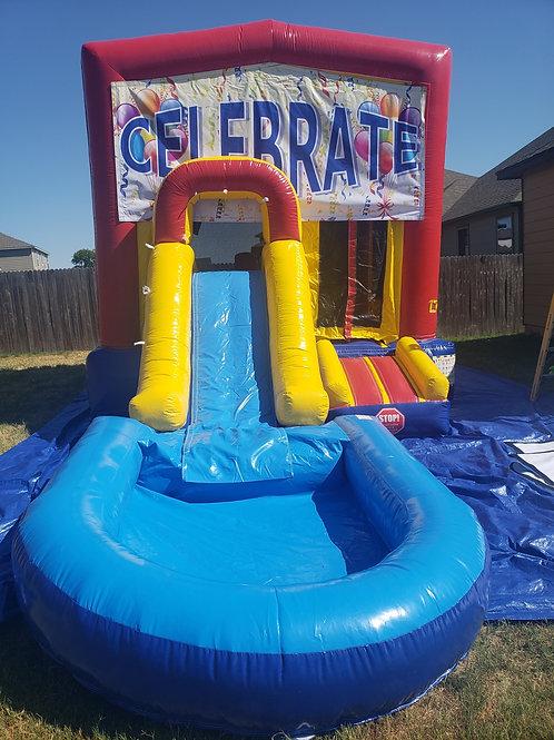 Celebrate Bounce House / Water Slide Combo
