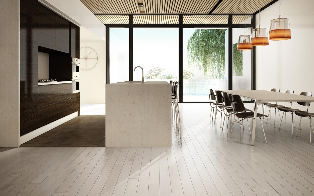 A modern laboratory kitchen