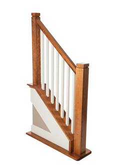 Post & Balusters square w/notch