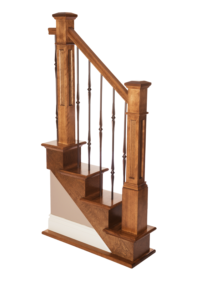 Box newel victorian flat panel
