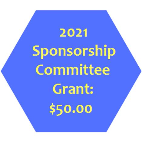 Sponsorship Committee Grant: $50
