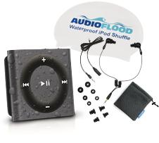 Audioflood waterproofed iPod