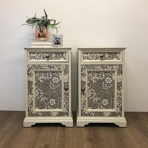 Seaweed Bedside Cabinets