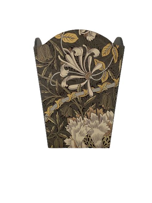Honeysuckle & Tulip waste paper bin