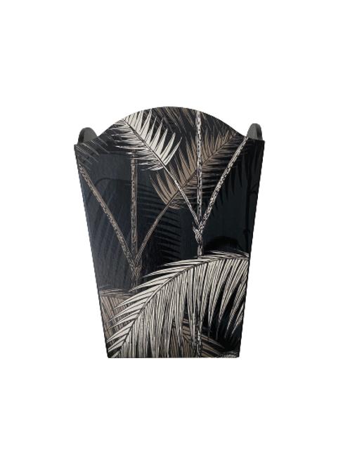 Waste Paper Bin Jungle Palm