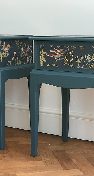 Daphne and Delia bedside tables