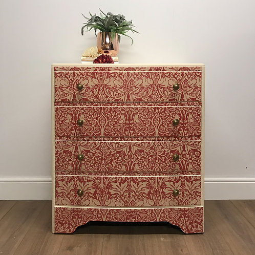 William Morris brer rabbit chest of drawers