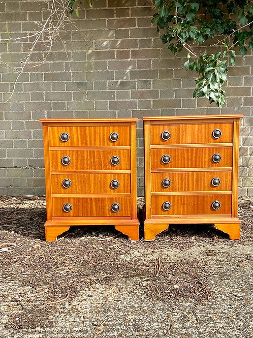 Pair Bedside Tables
