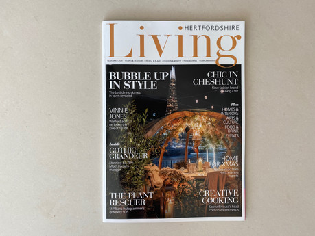 The Pheasant Plucker's wife shares Christmas decorating tips with Hertfordshire Living Magazine