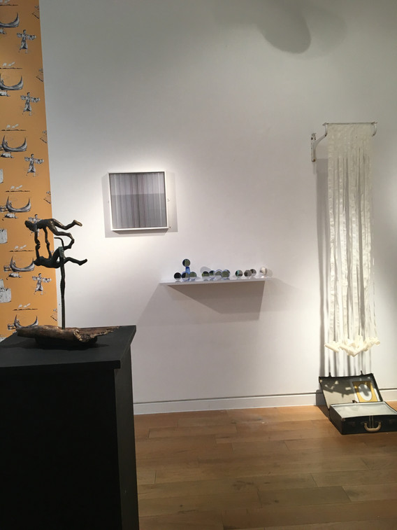 installation view of I is the power of I