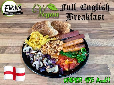 Read the Damn Label! - Vegan Full English Breakfast Under 450kcal