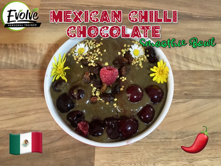 Mexican Chilli Choc Smoothie Bowl