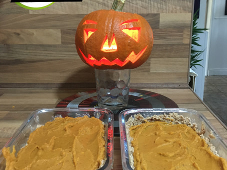 RAWr Halloween Pumpkin Pie Recipe