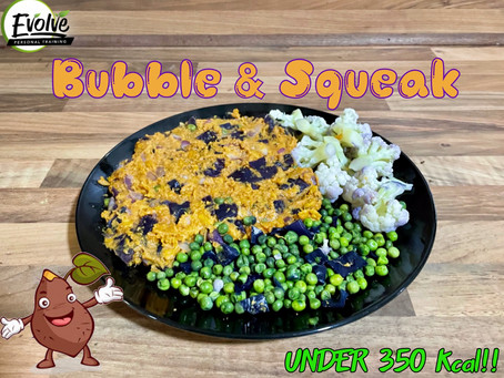 Bubble & Squeak - Sweet Potato Mash Recipe