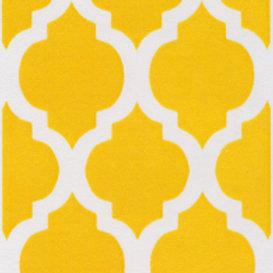Yellow Quatrefoil