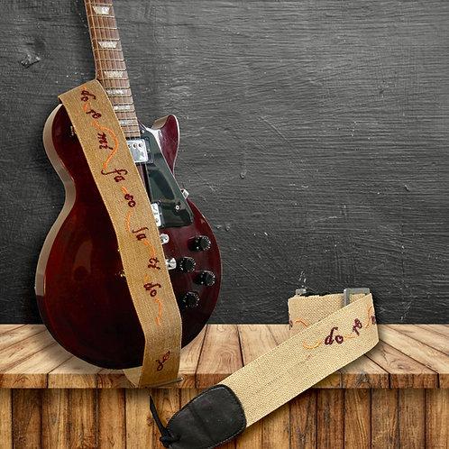 Guitar Straps (Do Re Mi)