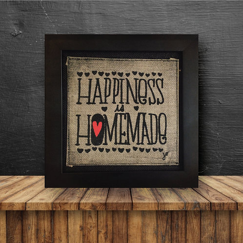 Wall Art - Happiness Is Homemade