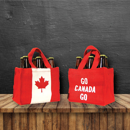 Pair of 6-Bottle Carrier - CANADA