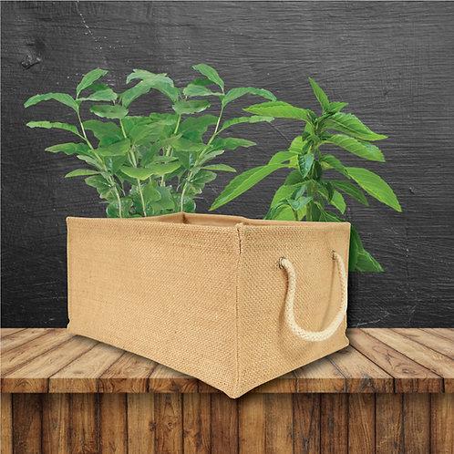 Planter, Utility Bin, Storage Basket - Rectangular