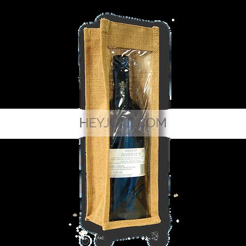 Wine Bottle Carrier - 1 Bottle Open