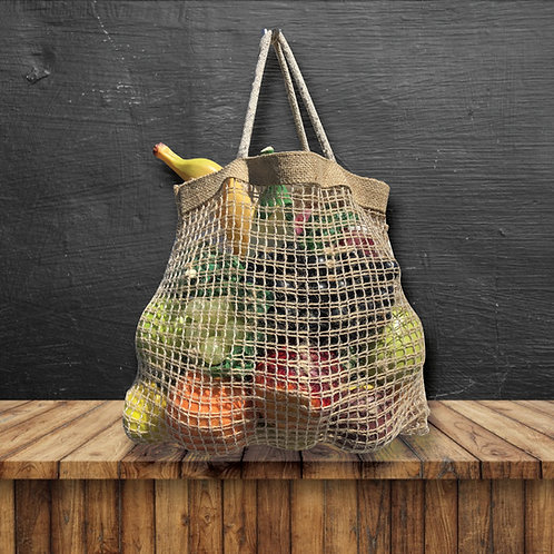 Pair of 2 Produce Fruit Net Bags