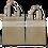 Thumbnail: Produce Net Bags - Cotton Dual Face Back Side Branding