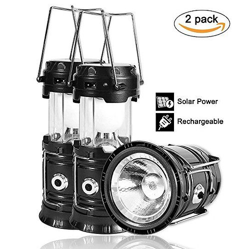 Solar Lamps (2 Pack)