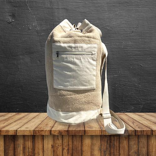 Duffle Bag Soft Jute (Khaki)