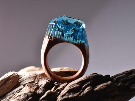 Crystal Scenery Rings
